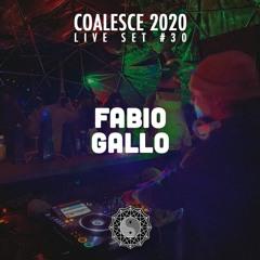 Coalesce 2020 Live Set #30: Fabio Gallo