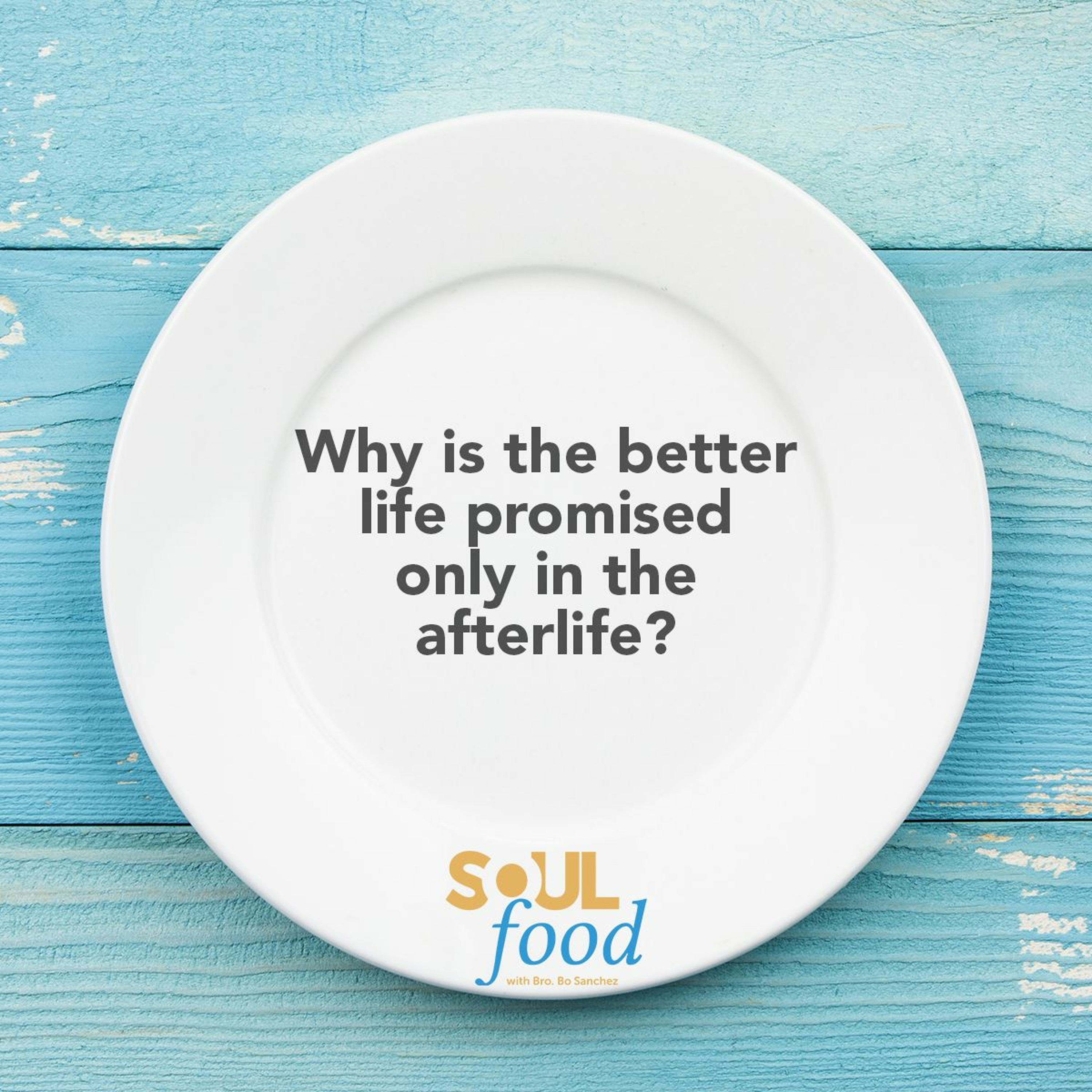 Soul Food S01E36 Why is the better life only promised in the after-life?