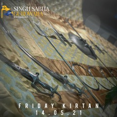 Bhai Kulwant Singh - Gur Maeree Poojaa Gur Gobindh - Friday Kirtan 14.05.21