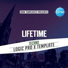 Lifetime Logic Pro X Template Techno