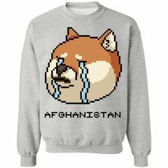 8 bit dog cry Afghanistan jumper