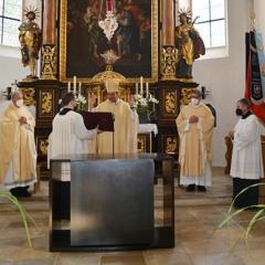 Altarweihe in Aicha a.d. Donau - Predigt von Bischof Stefan Oster