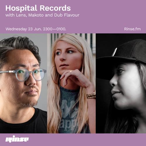 Download Lens, Makoto & Dub Flavour - Hospital Records Rinse FM (23-06-2021) mp3