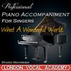 What a Wonderful World ('Louis Armstrong' Piano Accompaniment) [Professional Karaoke Backing Track]