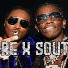 Future X Southside Type Beat 2021  Doe Boy Type Beat