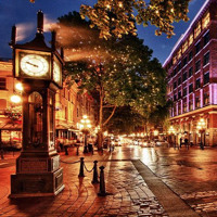 Gastown Steam Clock - Vancover BC Canada (FREE DOWNLOAD)