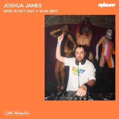 Joshua James - 18 October 2021