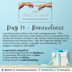 21 Day H2H - Benevolence