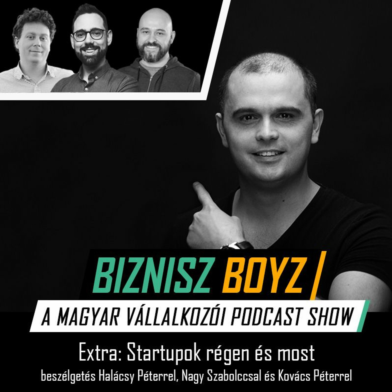 Extra: Startupok régen és most - beszélgetés Halácsy Péterrel, Nagy Szabolccsal és Kovács Péterrel