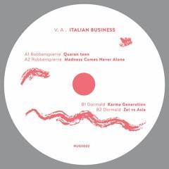 Robbenspierre & Dormald pres. Various Artists - Italian Business