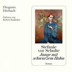 Stefanie vor Schulte, Junge mit schwarzem Hahn. Diogenes Hörbuch 978-3-257-69435-2