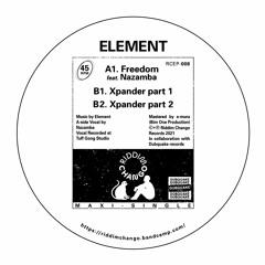 RCEP008 - Element x Nazamba - Freedom EP