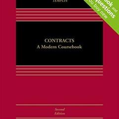 Free [epub]$$ Contracts: A Modern Coursebook [Connected Casebook] (Aspen Casebook) download ebook P