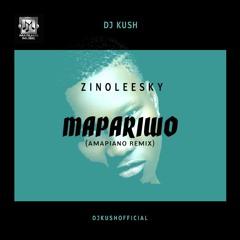 DJ Kush ft Zinoleesky - Mapariwo (Amapiano Remix)