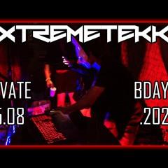 XTREMETEKK @ privat bday rave 15.08.2020 (RAW TECHNO)