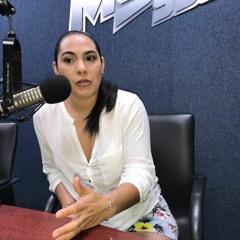 Seguiré denunciando la violencia de Locho: Indira Vizcaíno