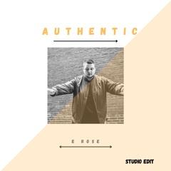 Authentic (Studio Edit)
