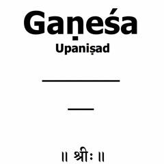 Gaṇapati Atharvaveda Upaniṣad