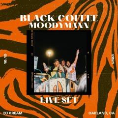 Black Coffee x Moodymann [Live Set]