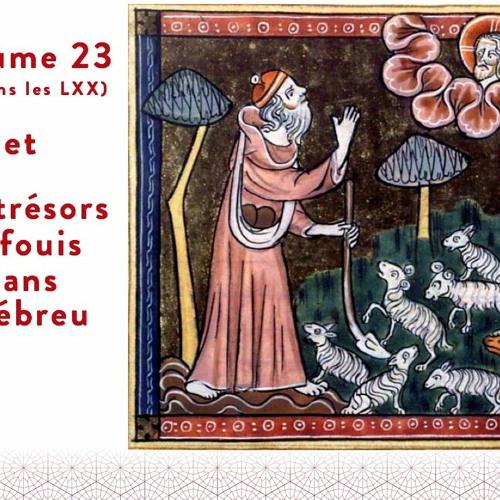 Psaume 23 - trésors de la langue hébraïque