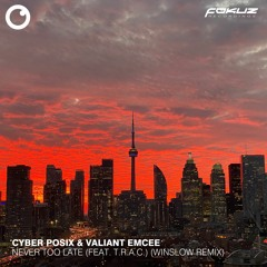 FOKUZ 21147 // Cyber Posix & Valiant Emcee - Never Too Late [The Remixes] EP