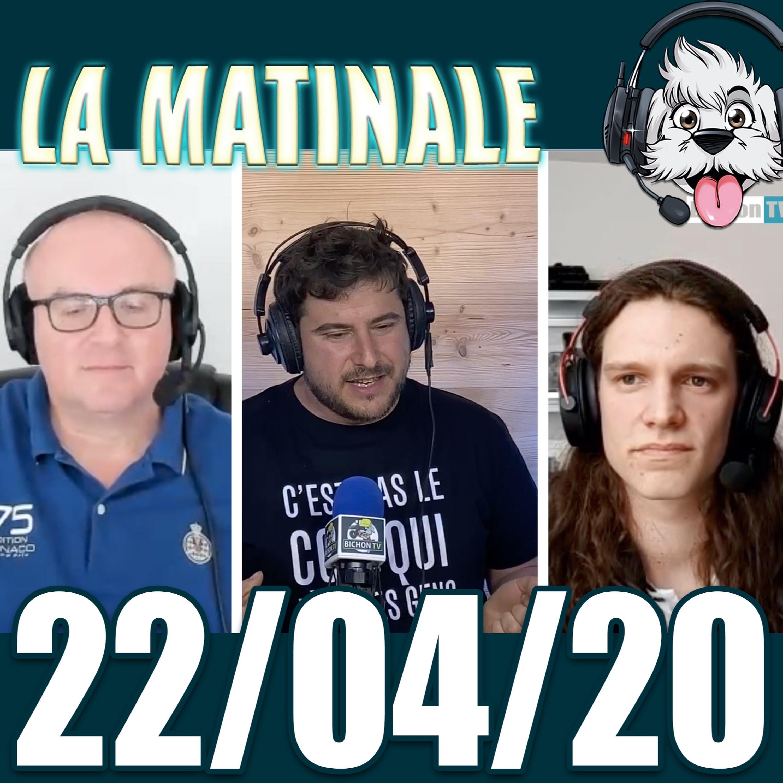 Liberté d'expression et Podcast libre avec Martin et bruno. Matinale du 22 04 20 radio bichon