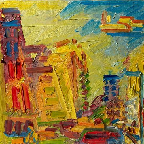 Frank Auerbach Mornington Crescent, Summer Morning II