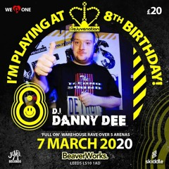 Rejuvenation 8th Birthday-Beaverworks-Leeds-Danny Dee-Italian Lounge 7-3-2020