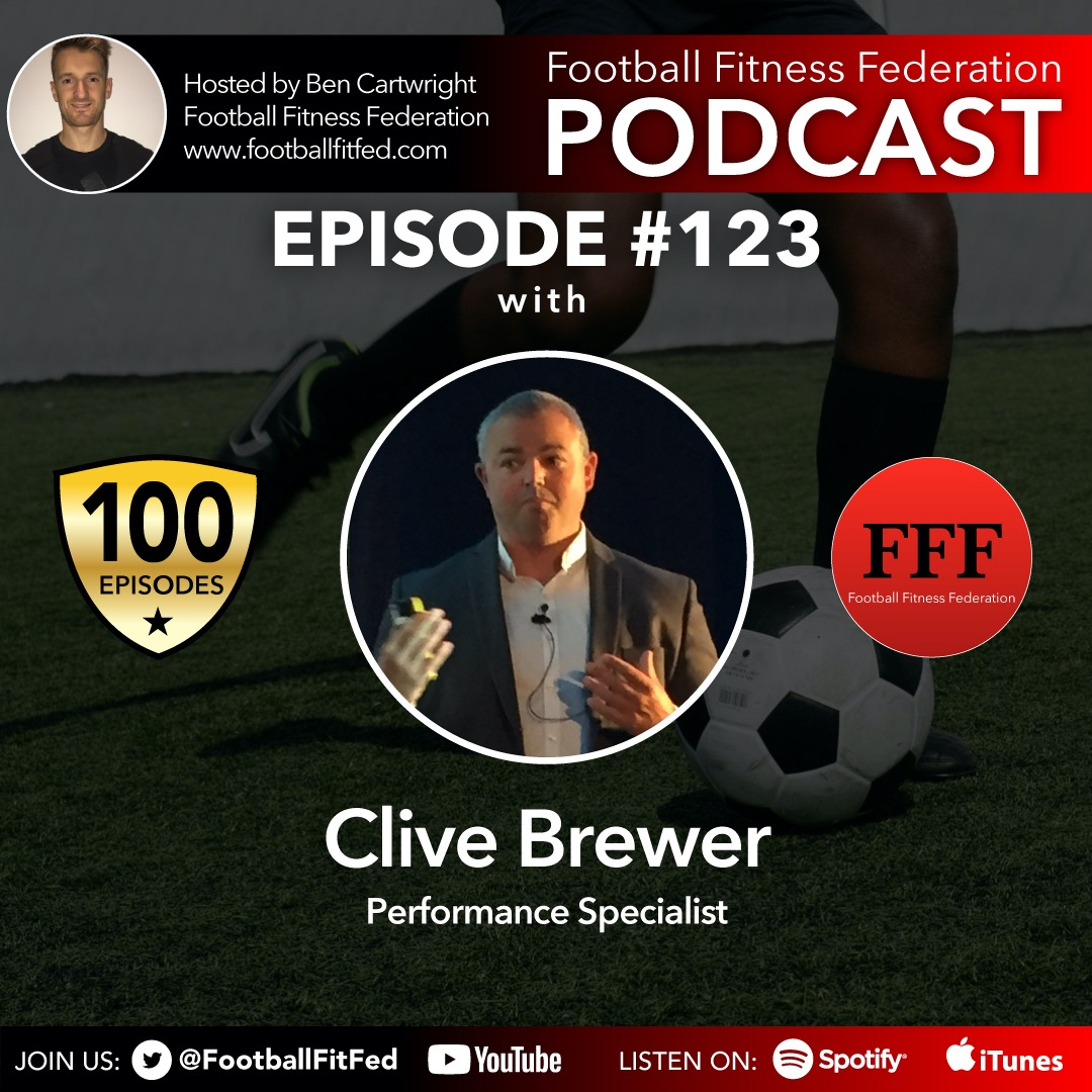 """#123 """"Training For The Critical Moments"""" With Clive Brewer"""