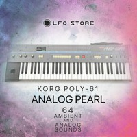 """Korg Poly-61 """"Analog Pearl"""" Soundset - Ambient sounds DRY"""