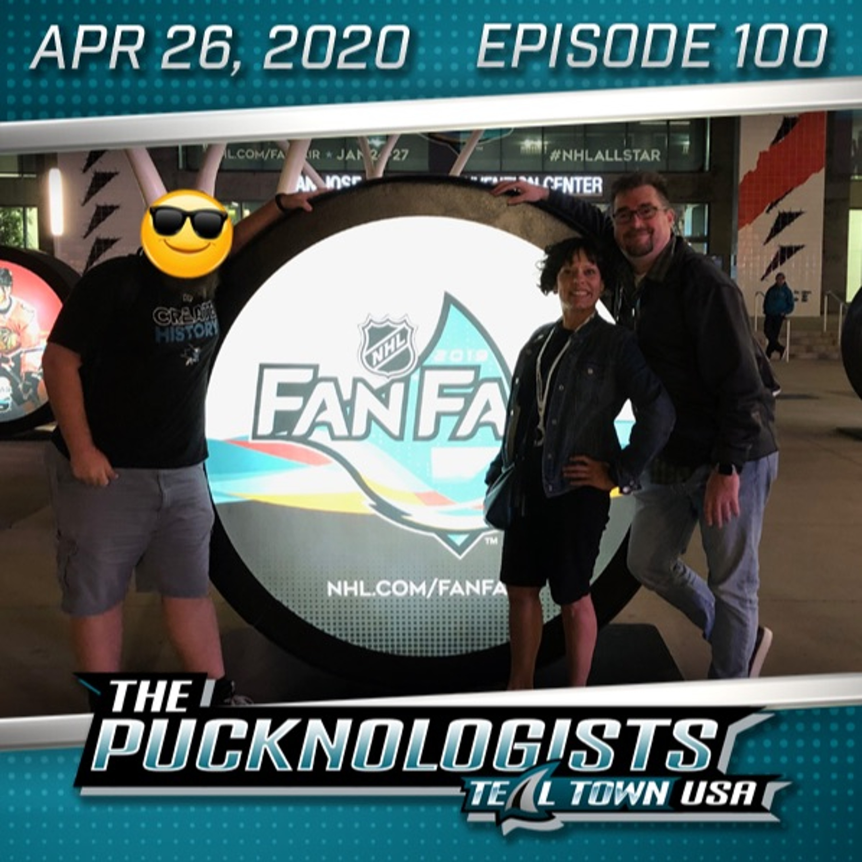 The Pucknologists 100 - Surveying Sharks Fans, John Scott Tweets, BART Delays