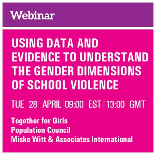 Using Data & Evidence to Understand the Gendered Dimensions of School Violence