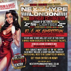 EVENSTASH NEXT HYPE 7th BDAY DJ COMPETITION ENTRY
