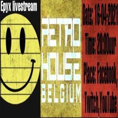 ***Teaser*** Livestream Retro House Belgium ***16-04-2021***