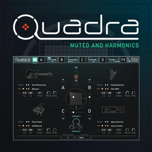 Quadra: Muted & Harmonics - Quadrastic Measures by TORLEY