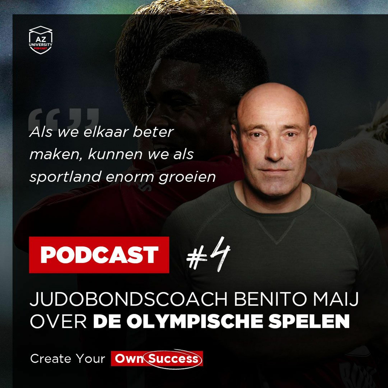 AZ University Podcast #4: De Olympische Spelen met Benito Maij