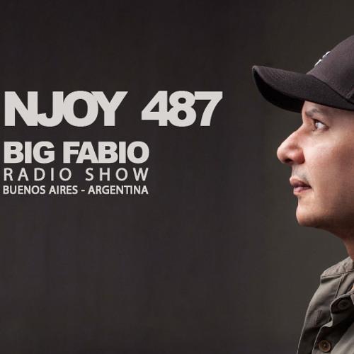 NJOY MUSIK 487 / BIG FABIO Radio Show desde BUENOS AIRES, ARGENTINA