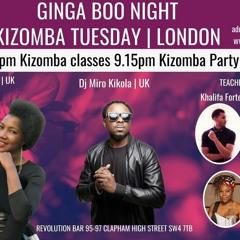 ****LIVE SET MIX @ KIZOMBA TUESDAYS BY GINGA BOO