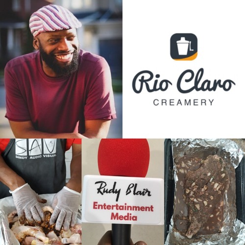 Intv w Cleve Sandy on his new Caribbean Food Service & 25th Anniversary, Sandy Audio Service