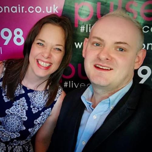 Frank McGowan on Christina Littleson Show Pulse FM