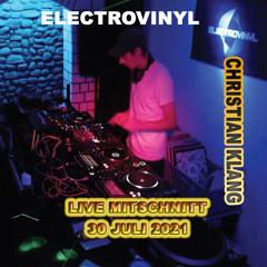 "2021.07.30""Basement Sound from electrovinyl""  Live Mitschnitt"