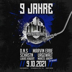 URGEWALT @ 9 Jahre PLATTENBUNKER - 09.10.2021 - Elektroküche Köln