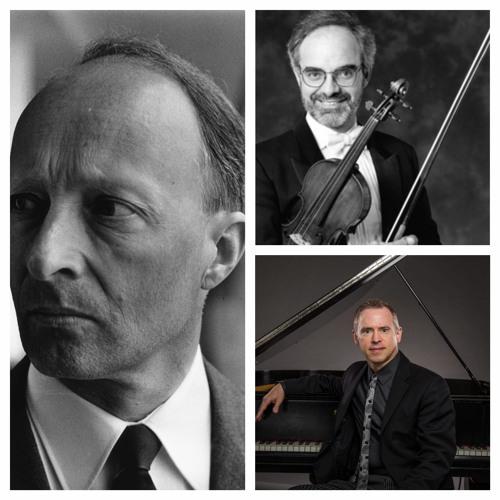 Lutoslawski: Partita--Malcolm Lowe, violin; Geoffrey Burleson, piano