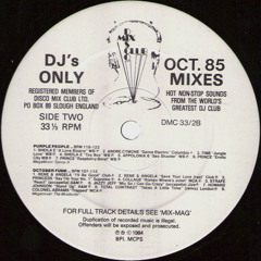 The Mixdoctor - October Funk (1985) free DL