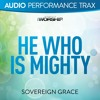 He Who Is Mighty (Original Key Trax With Background Vocals)