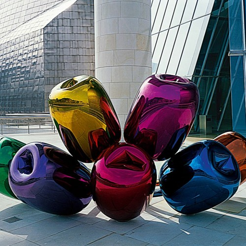 539. Jeff Koons. Tulipanes, 1995-2004