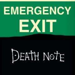 emergency death note???