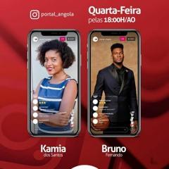 Podcast;Conversa em Direto: Kamia Dos Santos & Bruno Fernando