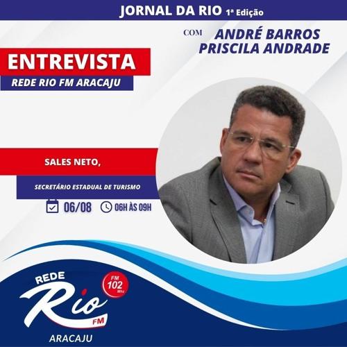 Sales Neto, Secretário Estadual de Turismo