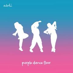purple dance floor